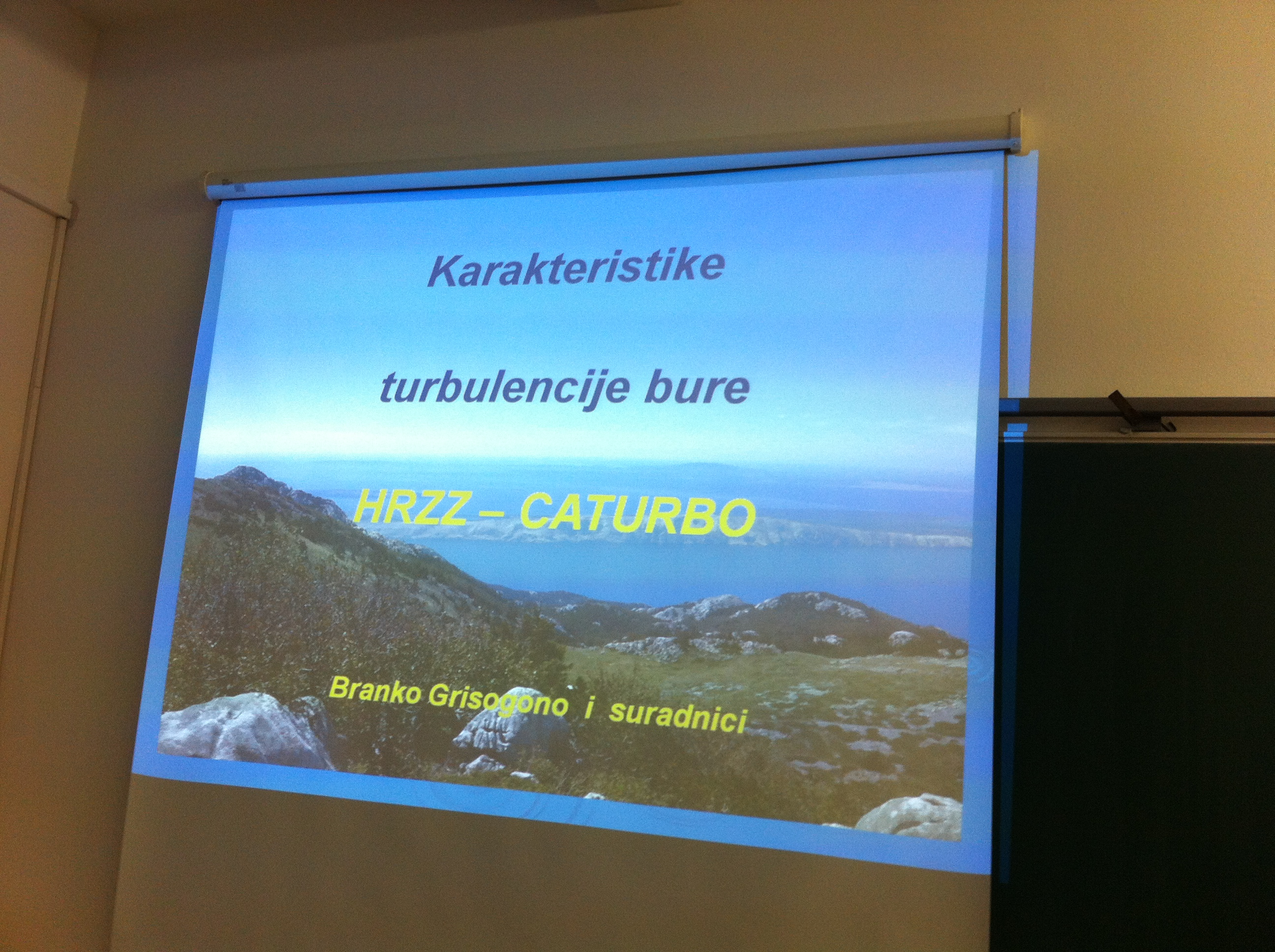 Na početku predavanja